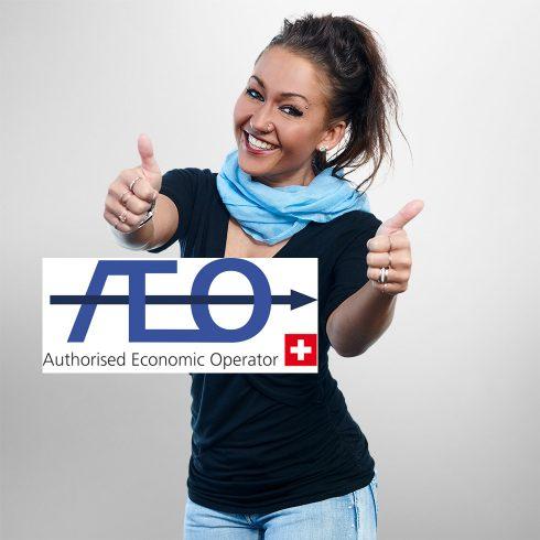 NEU: AEO-zertifiziert!